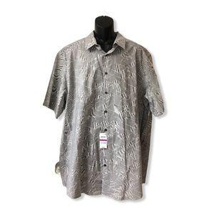 Alfani Men's Big Tall Short Sleeve Shirt